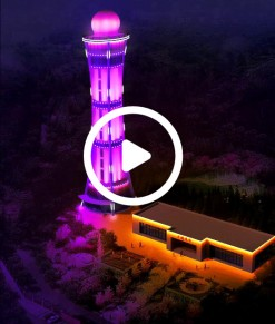 城市亮化视频